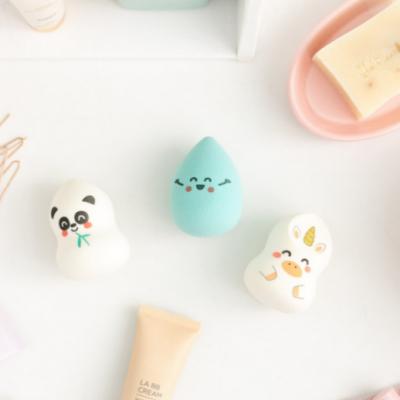 Conjunto de 3 esponjas de maquilhagem