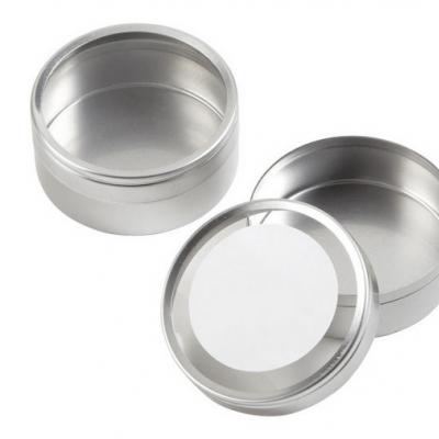 Round tin favor | Pequena caixa metal