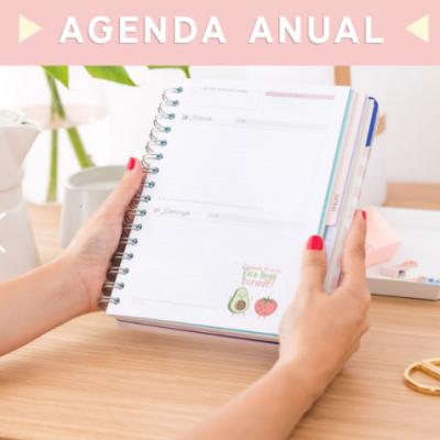 Agenda clássica 2019 (vista diária) - dias com um milhão de horas