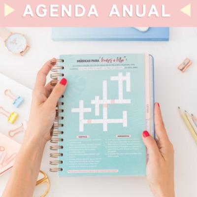 Agenda Clássica 2019 (vista semanal) - as mil e uma coisas que vou conseguir fazer