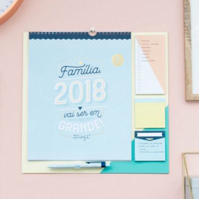 Calendário | Familiar 2018