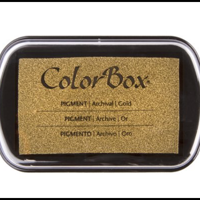 Ink Pad Color Box - Gold