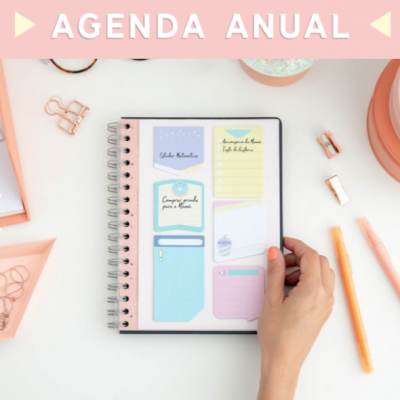 Agenda anual clássica 2020 vista semanal