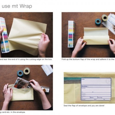 Masking Tape Wrap | Papel de embrulho