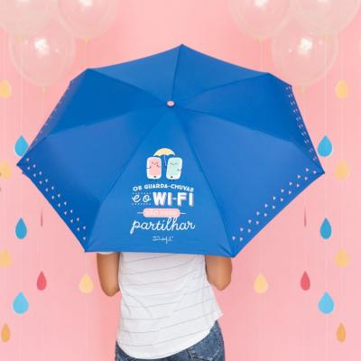Guarda-chuva pequeno | Os guarda-chuvas e o Wi-Fi são para partilhar