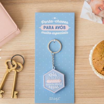 Porta-chaves | Avó és muito especial