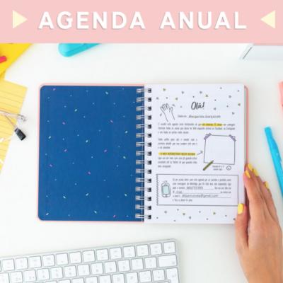 Agenda anual sketch 2020 vista semanal