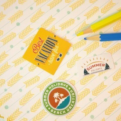 Paper Stickers | Summer Vacations