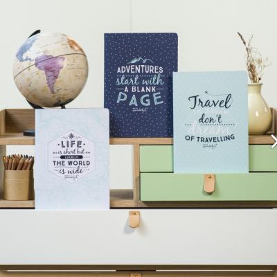 Notebooks Day dream travel | Cadernos