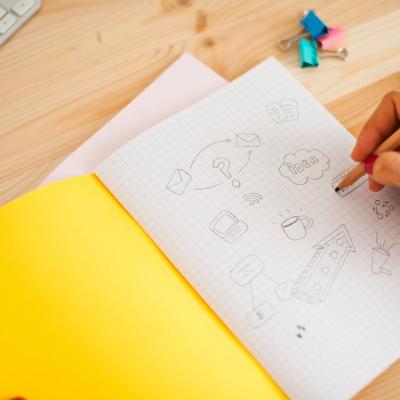 Notebooks for the best ideias | Cadernos