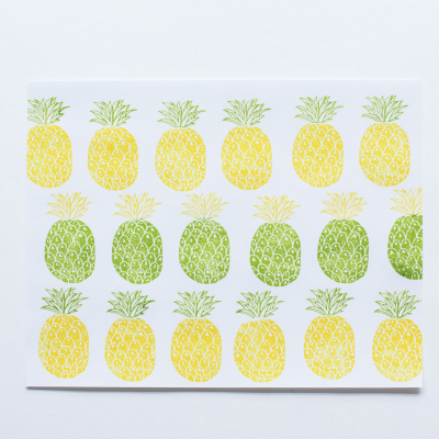 Stamp Pineapple | Carimbo ananás