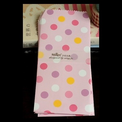 Slim Envelope Set | Polka Dots
