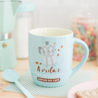 Caneca | A vida é maravilhosa depois do café