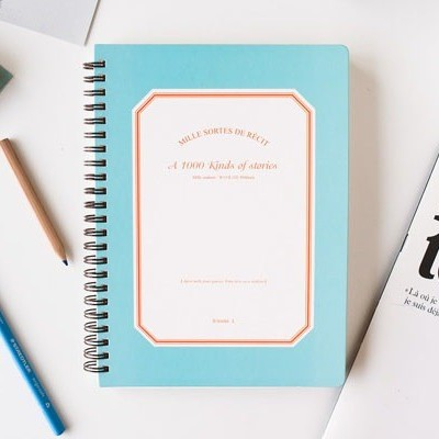 A 1000 Kind of Stories Note | Caderno