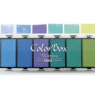 Paint Box Chalk | Almofadas carimbos