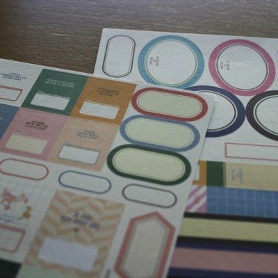 Kawaii Paper Iconic Labeling Pack