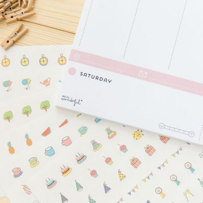 Weekly Planner for mothers who need 30 hours a day