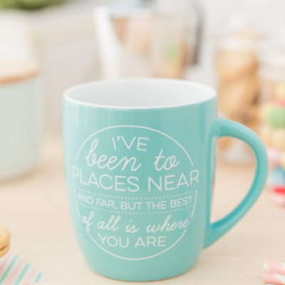 Caneca | I've been to places near and far, but the best of all is where you are
