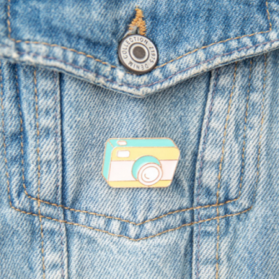 Kit para personalizares as tuas roupas e mochilas
