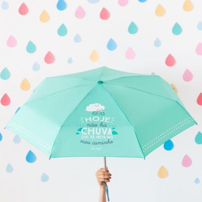 Guarda-chuva pequeno | Hoje não há chuva que se meta no meu caminho