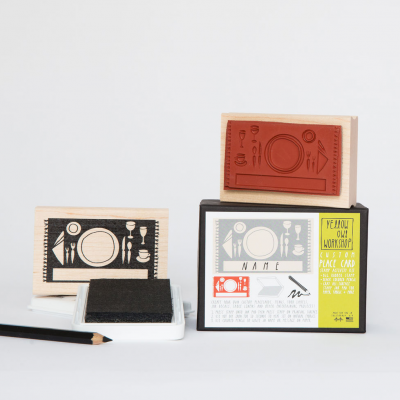 Stamp Place in the table | Carimbo
