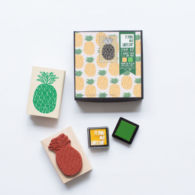 Stamp Pineapple | Carimbo ananás