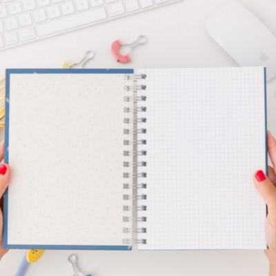 Caderno | Todos os grandes sonhos começam com uma pequena ideia