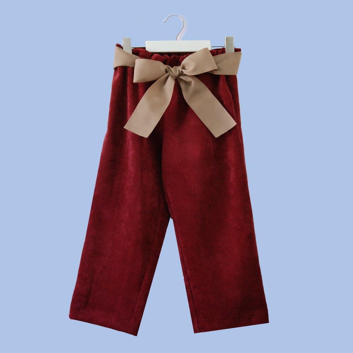Trousers Bordeaux