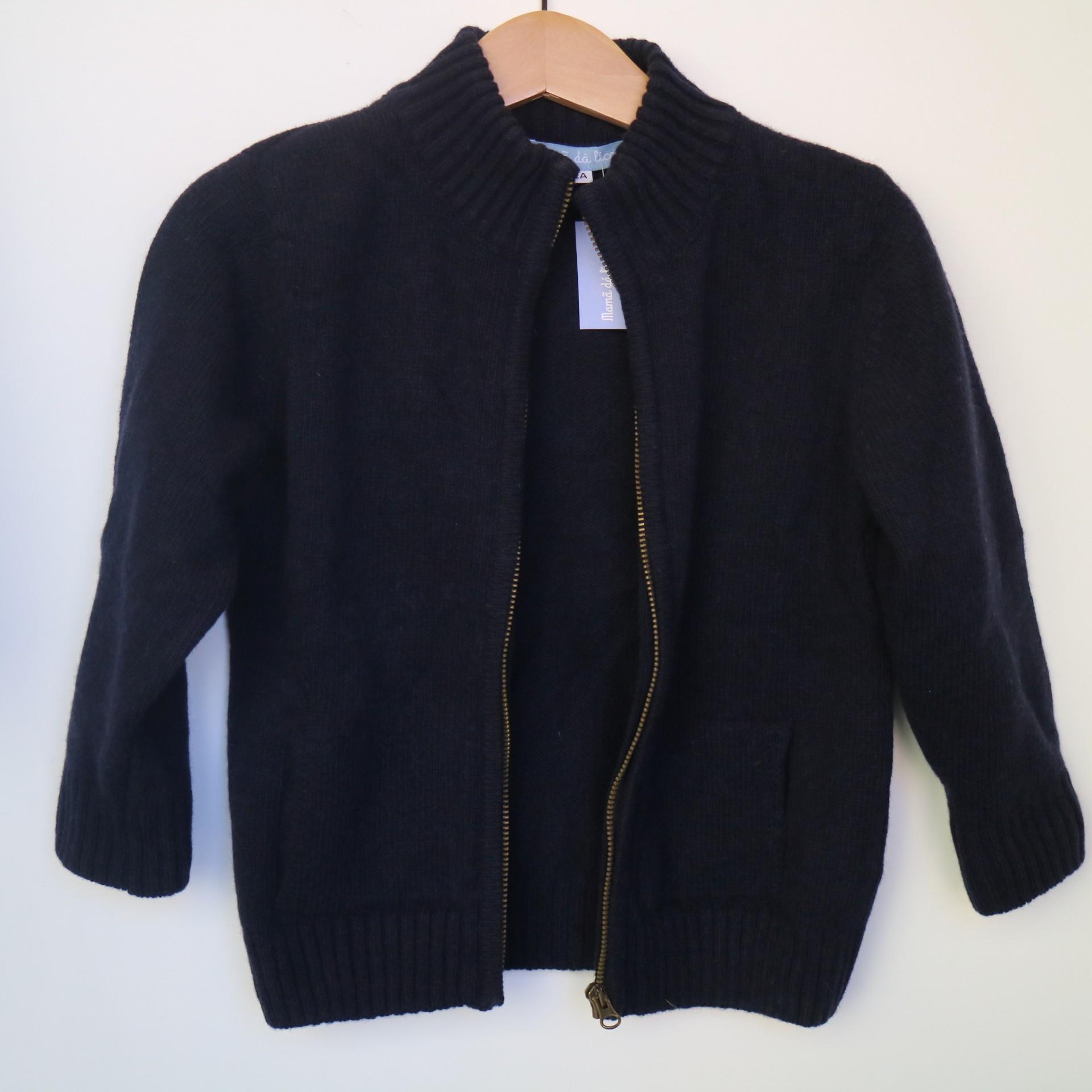Casaco Bolsos Azul