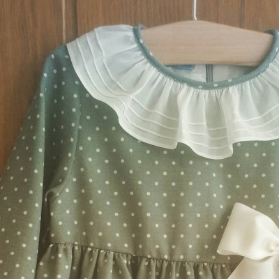 Vestido Dusty Green