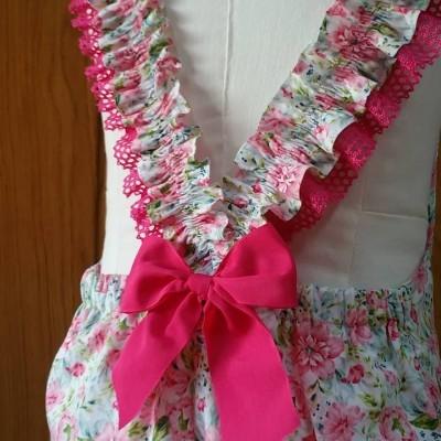 Jardineira Peony Pink