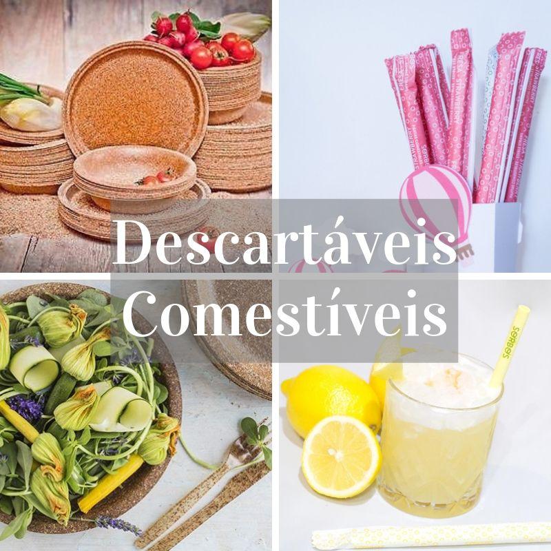 Descartáveis Comestiveis