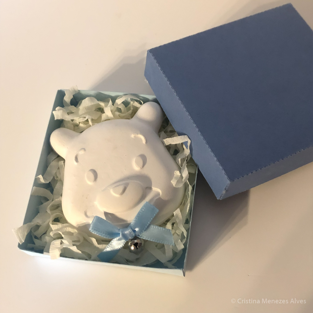 Ursinho em Gesso Perfumado