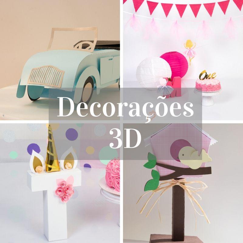 Decorações 3D