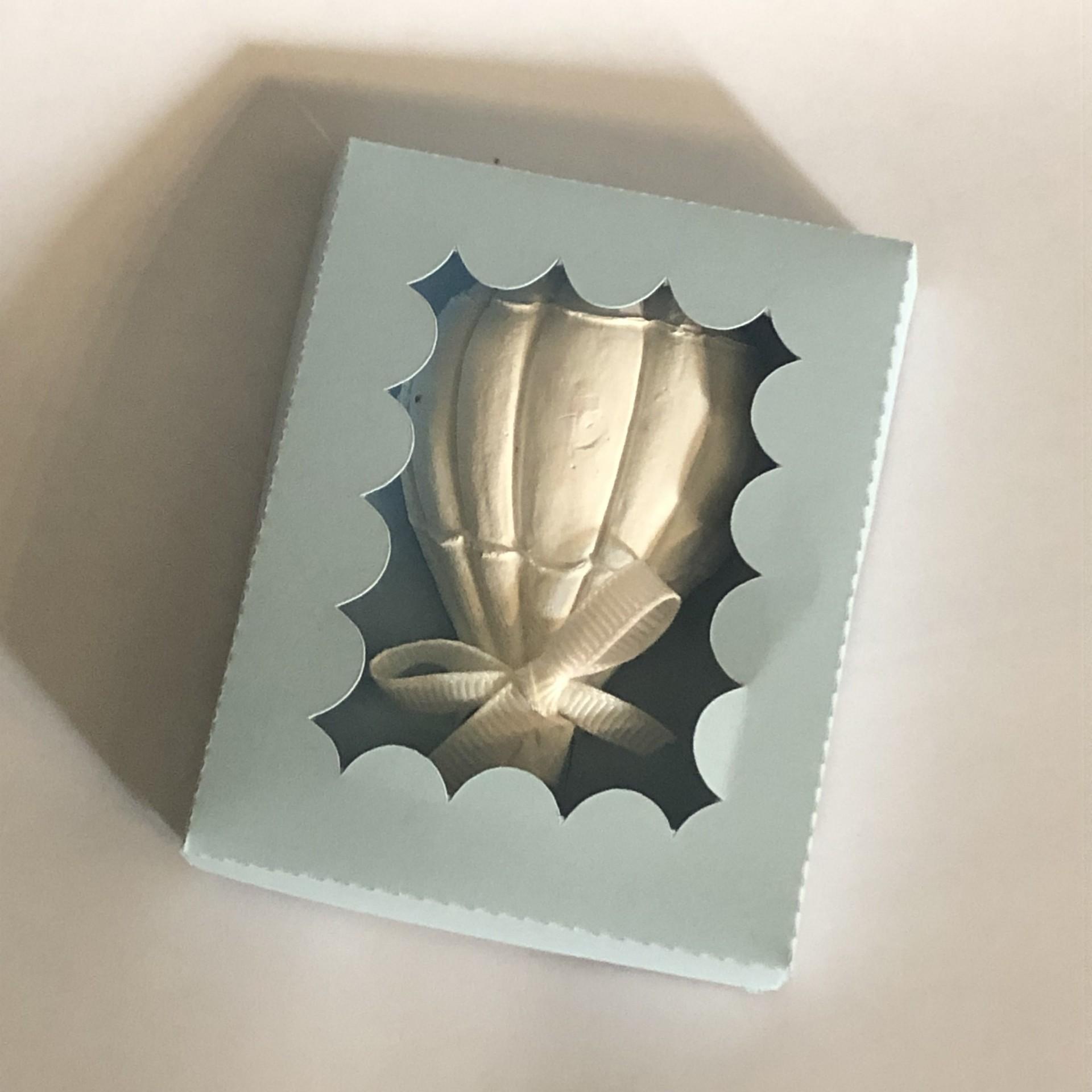 Balão de Ar quente em gesso perfumado com caixa de papel