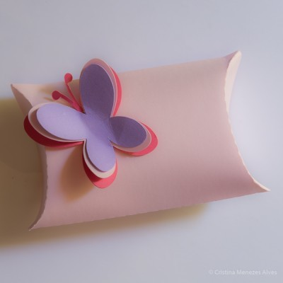 Pillow Case borboleta Margarida - Pack 6 unidades