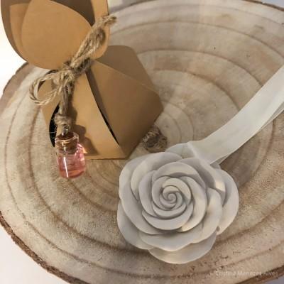 Flor em Gesso Perfumado