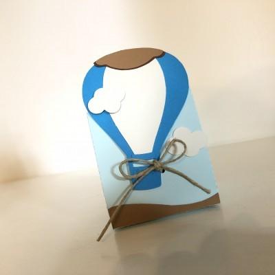 Embalagem balão de ar quente