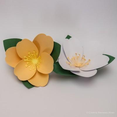 Flor nº 3 - Pack 4 unidades