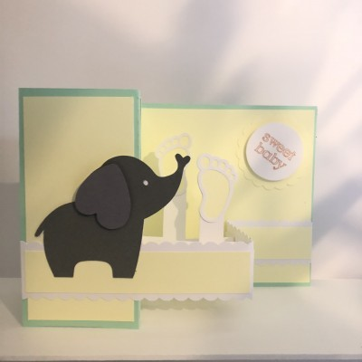 Postal pop-up Sweet Baby  3D