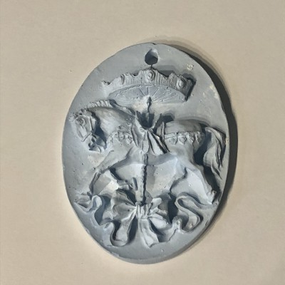 Medalha em Gesso Perfumado