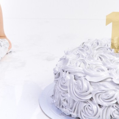 Sessão Fotográfica 'Smash the Cake' ( em Estúdio )