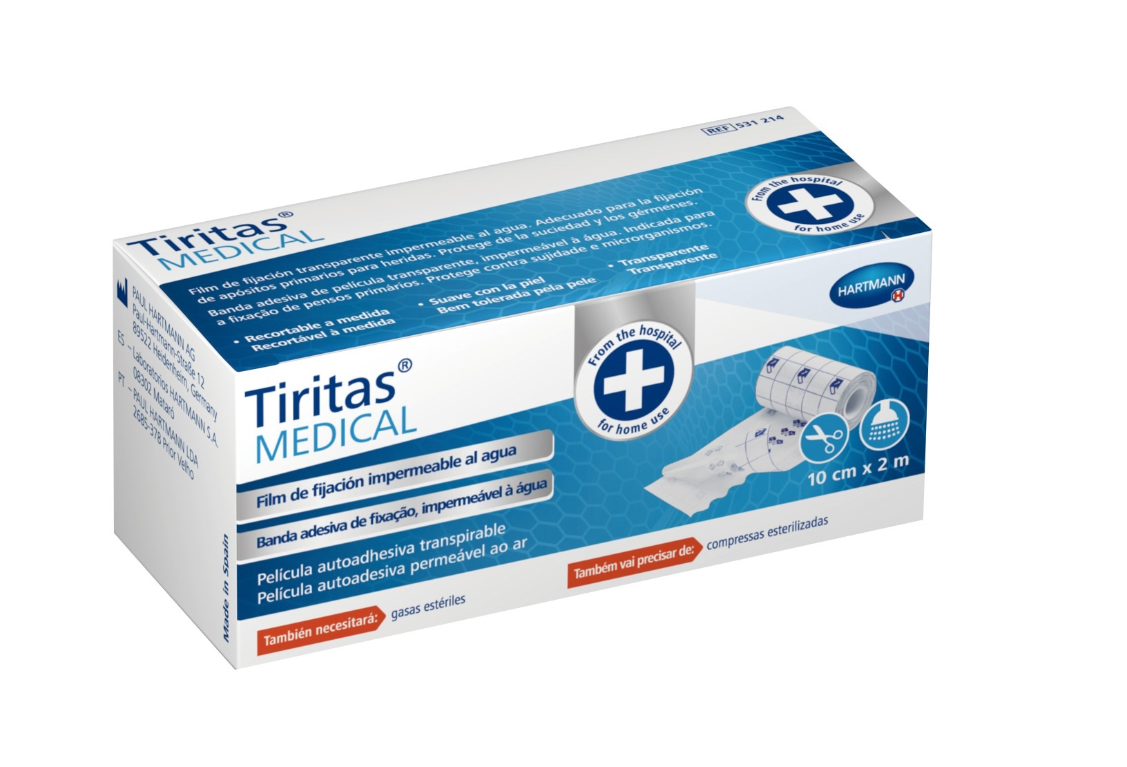 Tiritas® MEDICAL Banda Adesiva