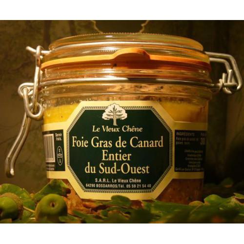 Foie Gras Inteiro de Pato do Sud Ouest - Le Vieux Chêne