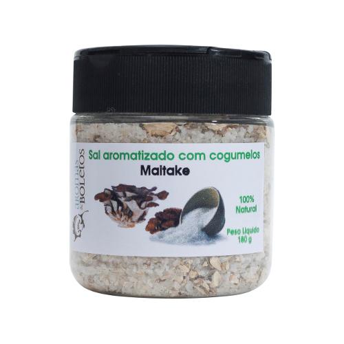 Sal aromatizado com Maitake (Grifola frondosa)