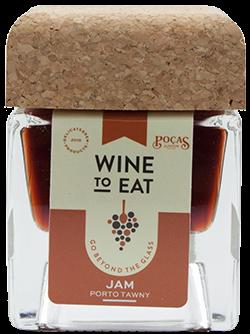 Geleia de vinho do porto Poças Tawny