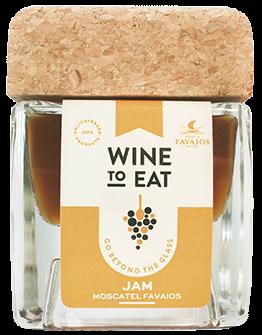 Geleia de vinho moscatel de favaios