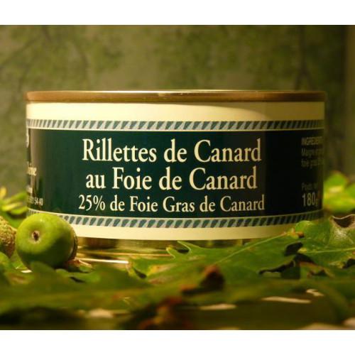 Rillettes de pato com Foie Gras - Le Vieux Chêne