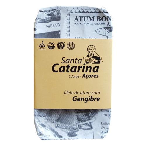 Santa Catarina - Atum em Filete em Azeite com Gengibre