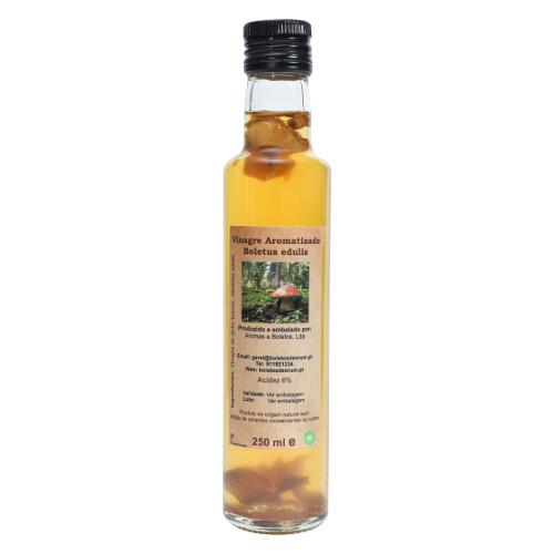 Vinagre aromatizado com Boletus (Boletus edulis)